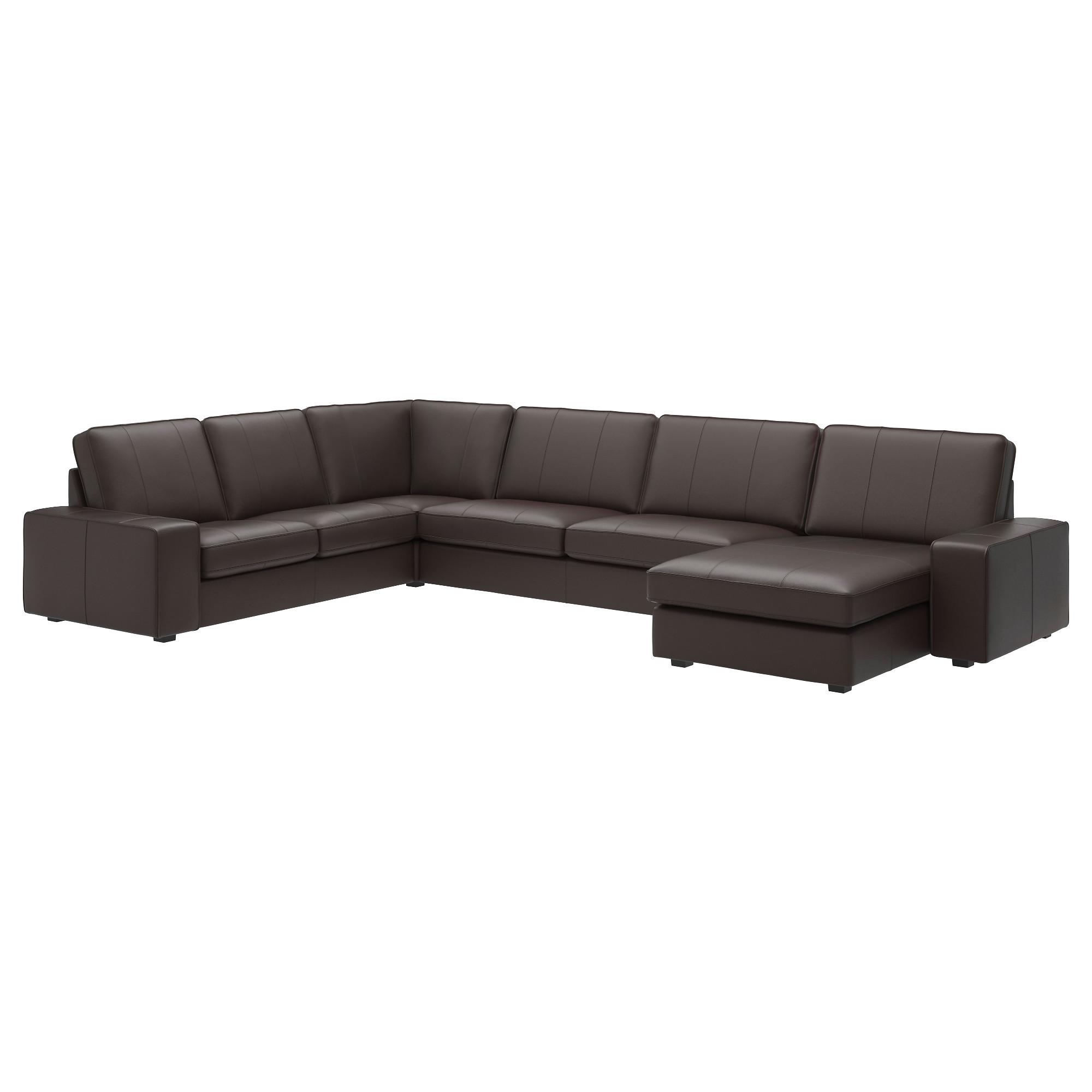 Leather & Faux Leather Couches, Chairs & Ottomans – Ikea Regarding Leather Lounge Sofas (View 6 of 20)