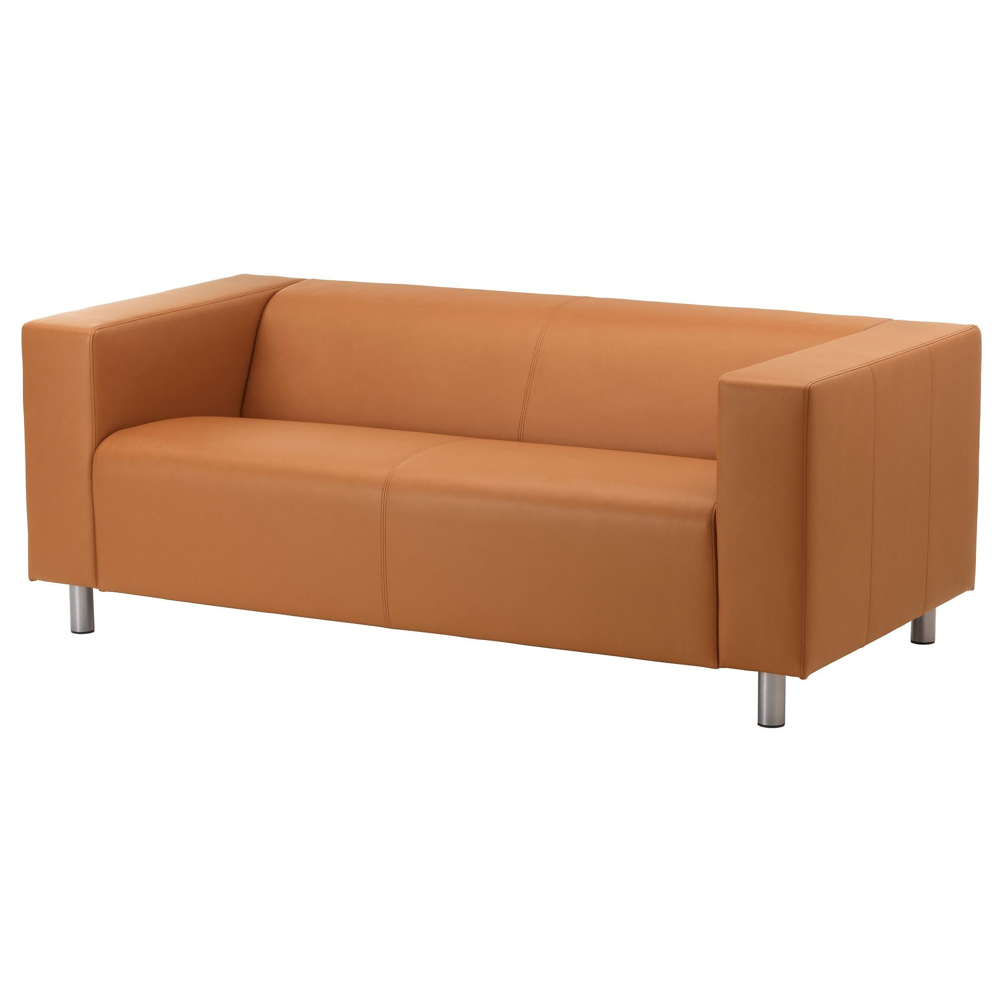 Leather & Faux Leather Couches, Chairs & Ottomans – Ikea With Regard To Light Tan Leather Sofas (Image 9 of 20)