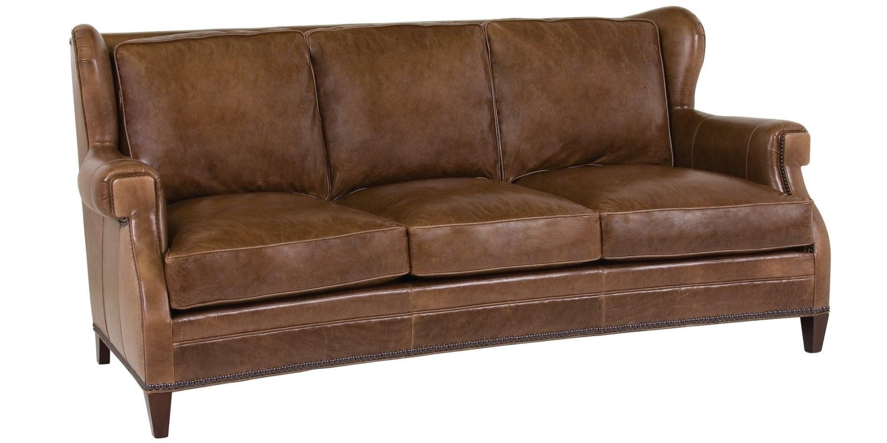 20 Choices Of Brown Leather Sofas With Nailhead Trim Sofa Ideas ~ Leather Sofa With Nailheads