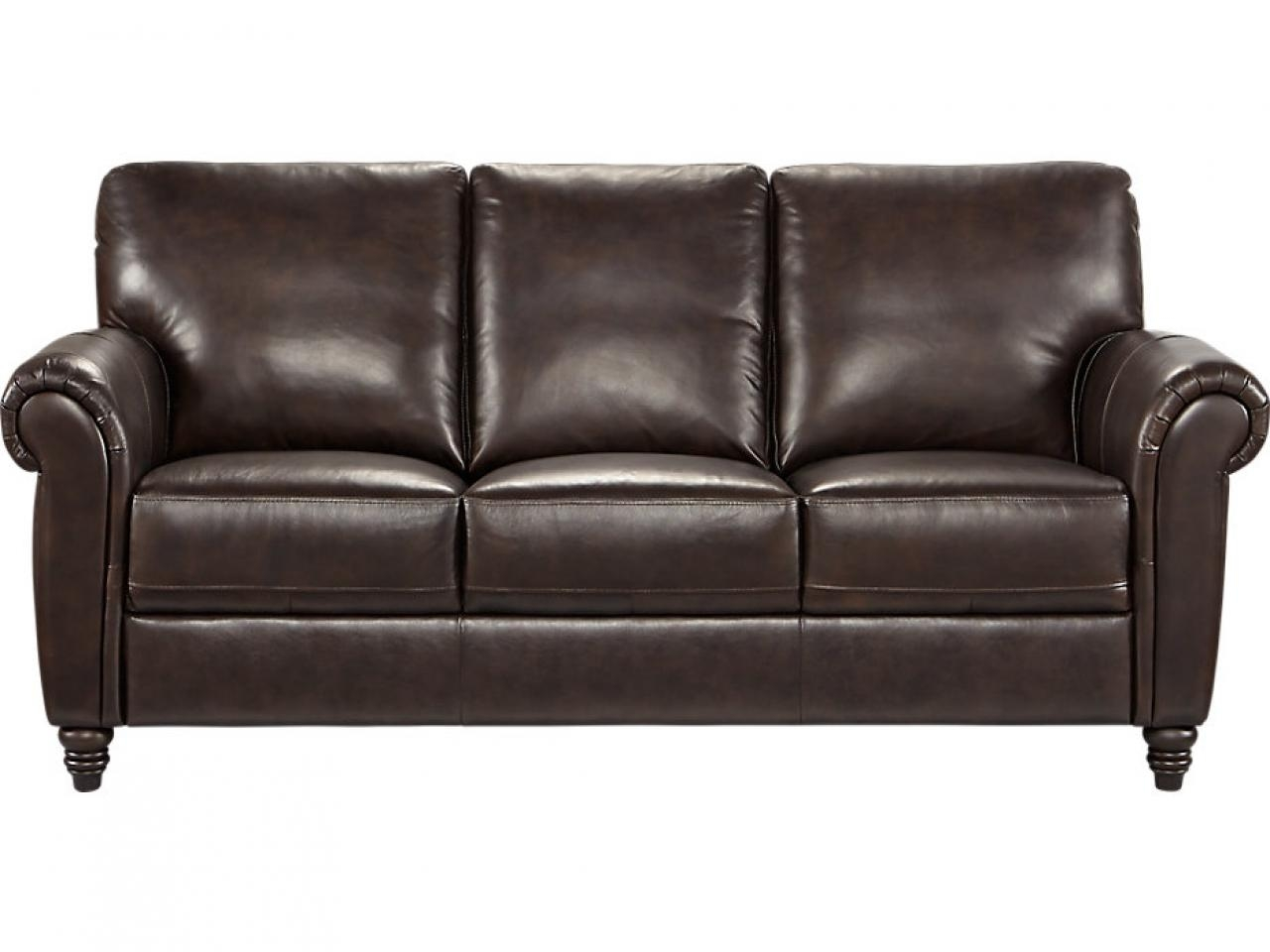 Leather Furniture Colors, Leather Sofas Old Fashioned Leather Sofa Regarding Old Fashioned Sofas (Image 4 of 20)