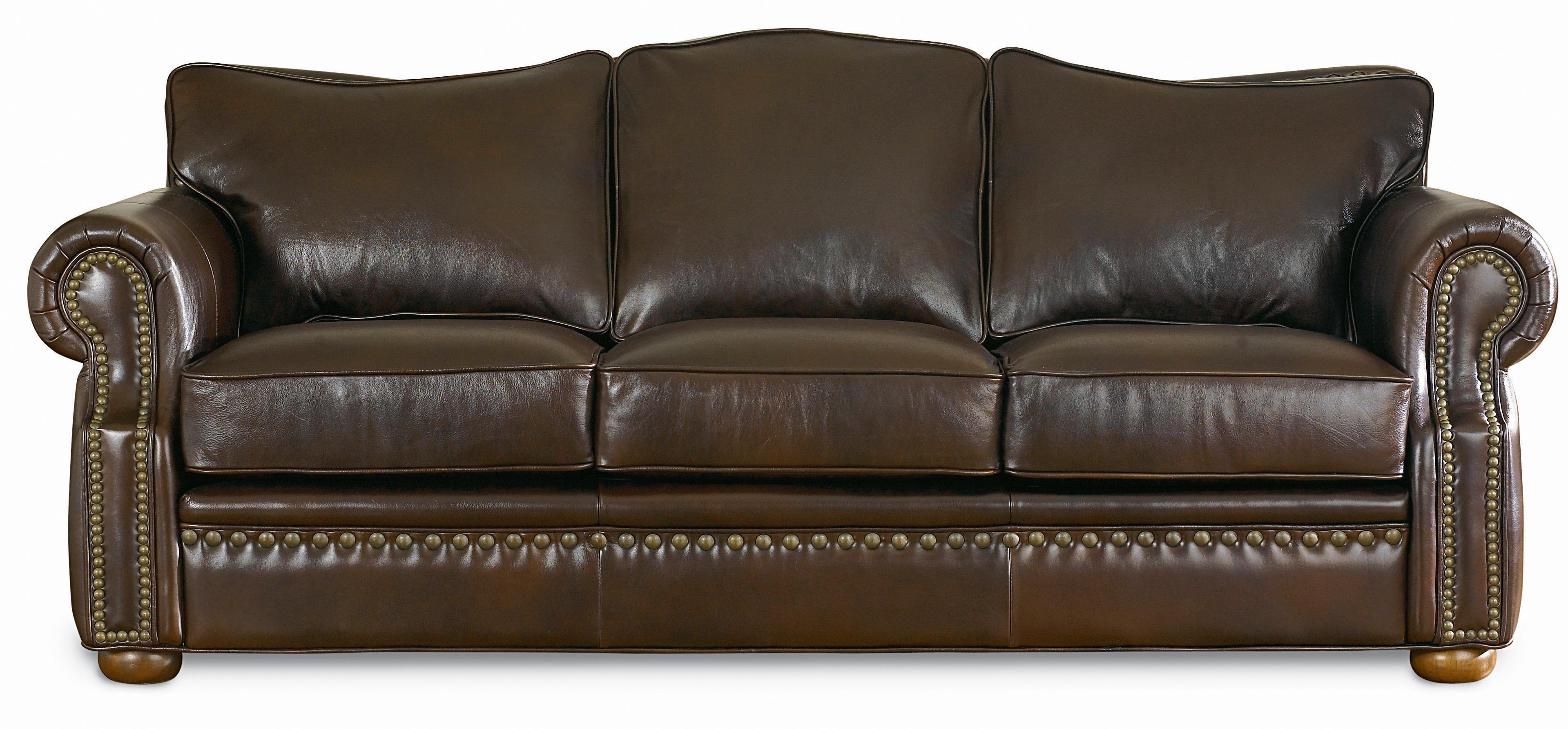Leather Furniture Laredo Sofa | Texas Leather Interiors In Overstuffed Sofas And Chairs (View 3 of 20)