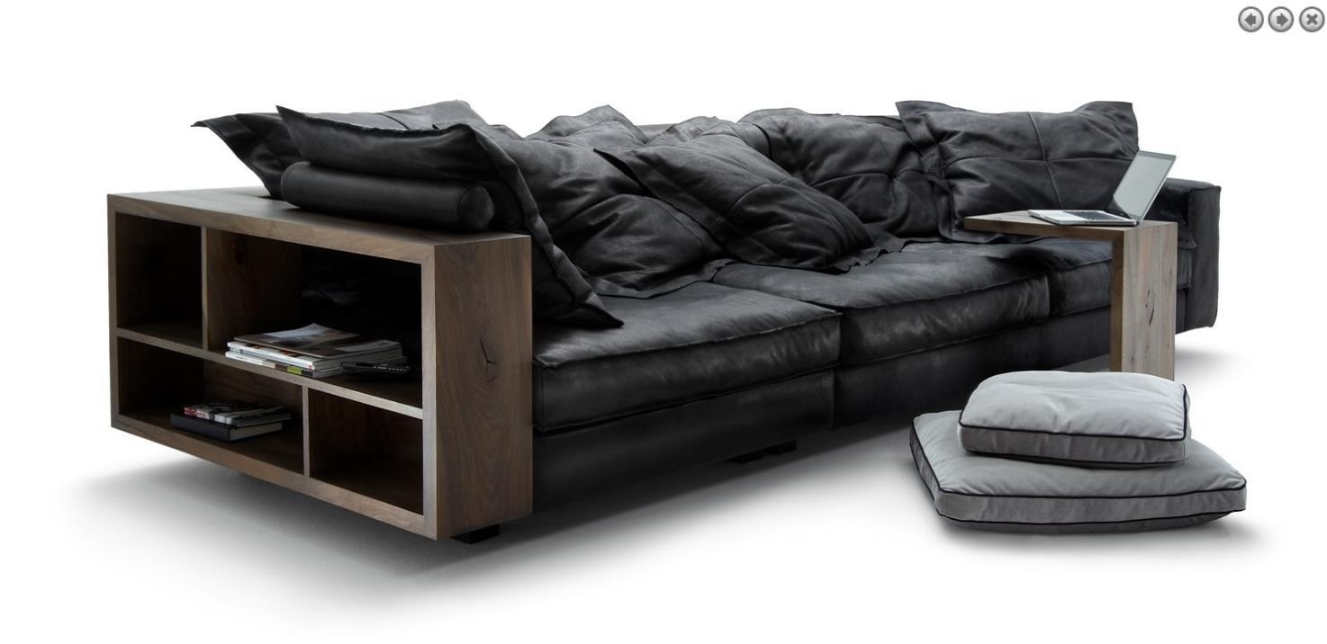 Leather Italia High Quality Italian Leather Sofas, Made In Italy Within Sofas With High Backs (Image 9 of 20)