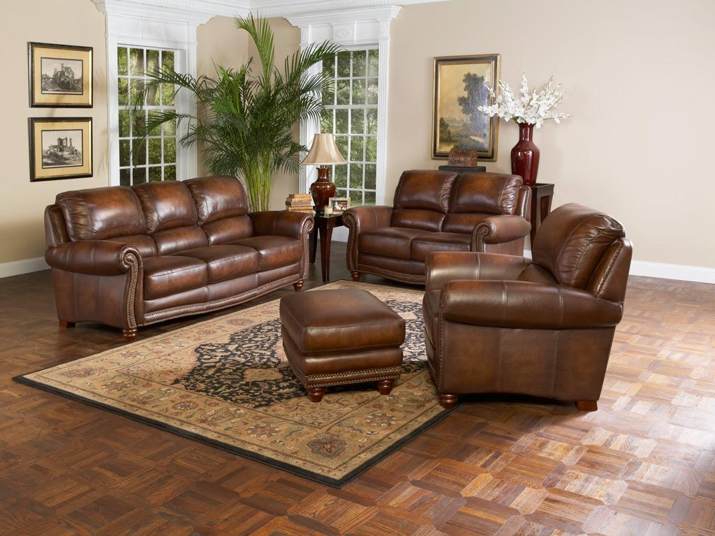 Leather Living Room Furniture For Modern Room Living Room Black With Living Room Sofas And Chairs (Image 6 of 20)