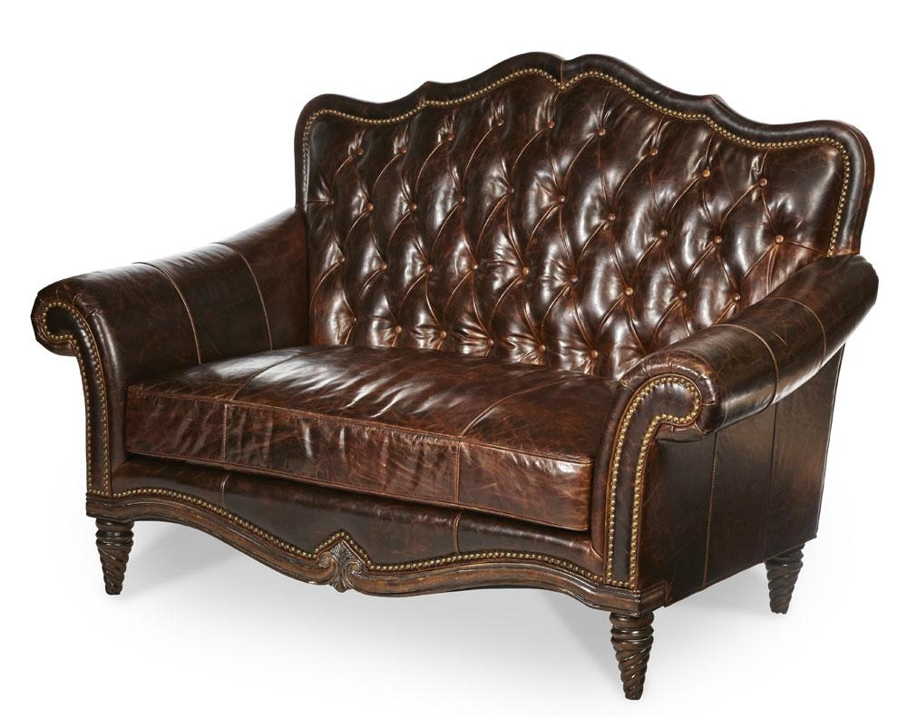Leather Love Seat Victoria Palace Bu Aico | Aico Living Room Furniture Within Victorian Leather Sofas (View 8 of 20)