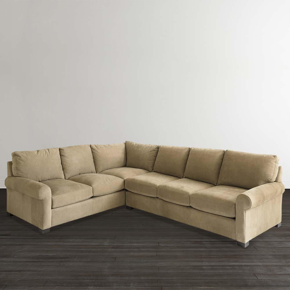 Leather Scarborough L Shaped Sofa For Leather L Shaped Sectional Sofas (View 3 of 20)