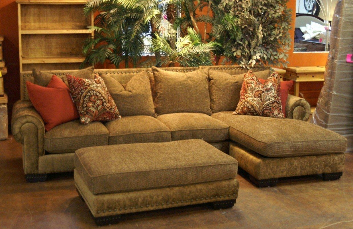 Leather Sectional Sofa Chaise 68 With Leather Sectional Sofa Pertaining To Gold Sectional Sofa (Image 8 of 15)