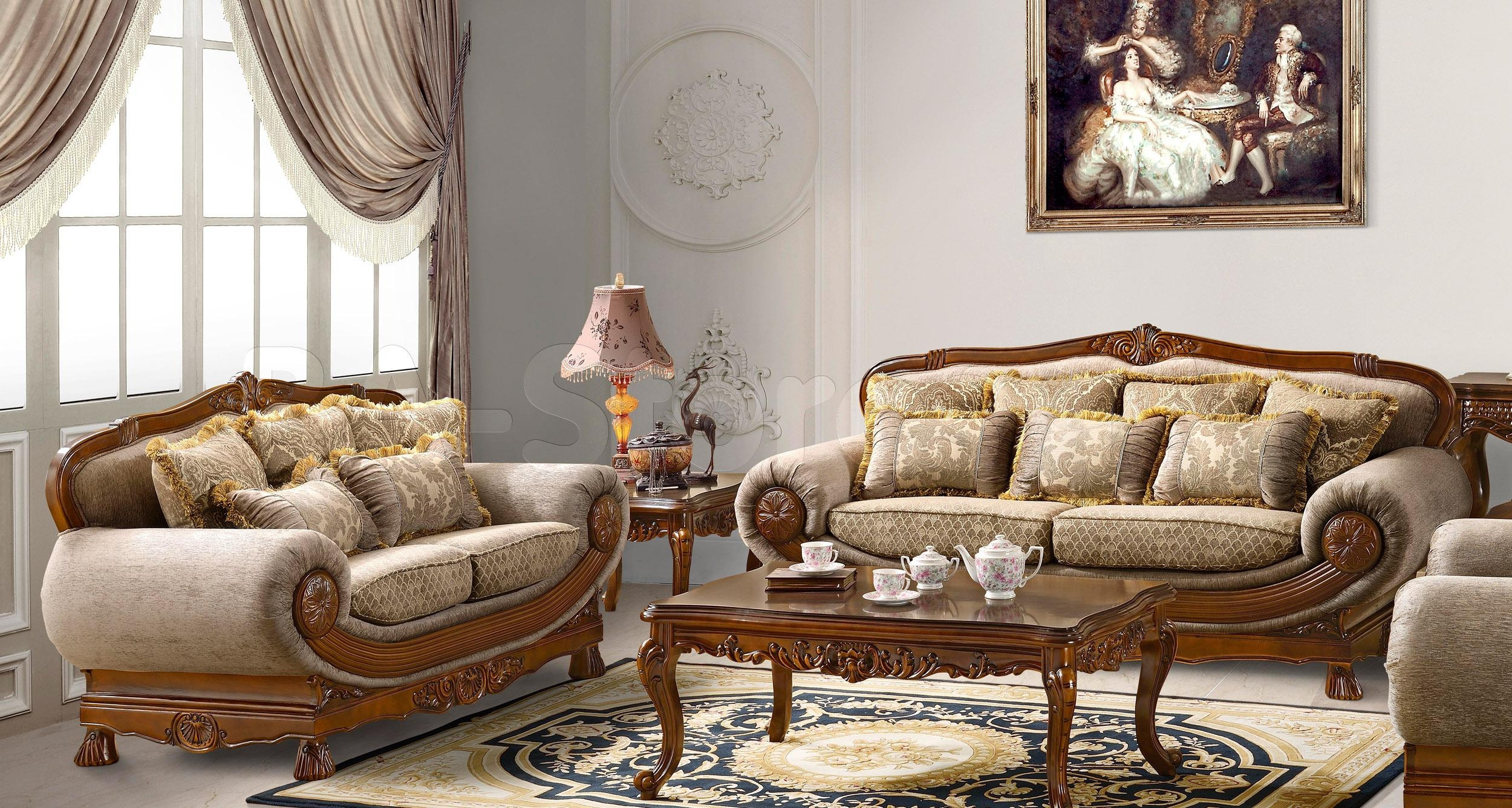 Leather Sectional Sofa With Cuddler | Best Home Furniture Ideas With Regard To Traditional Sofas And Chairs (Image 7 of 20)