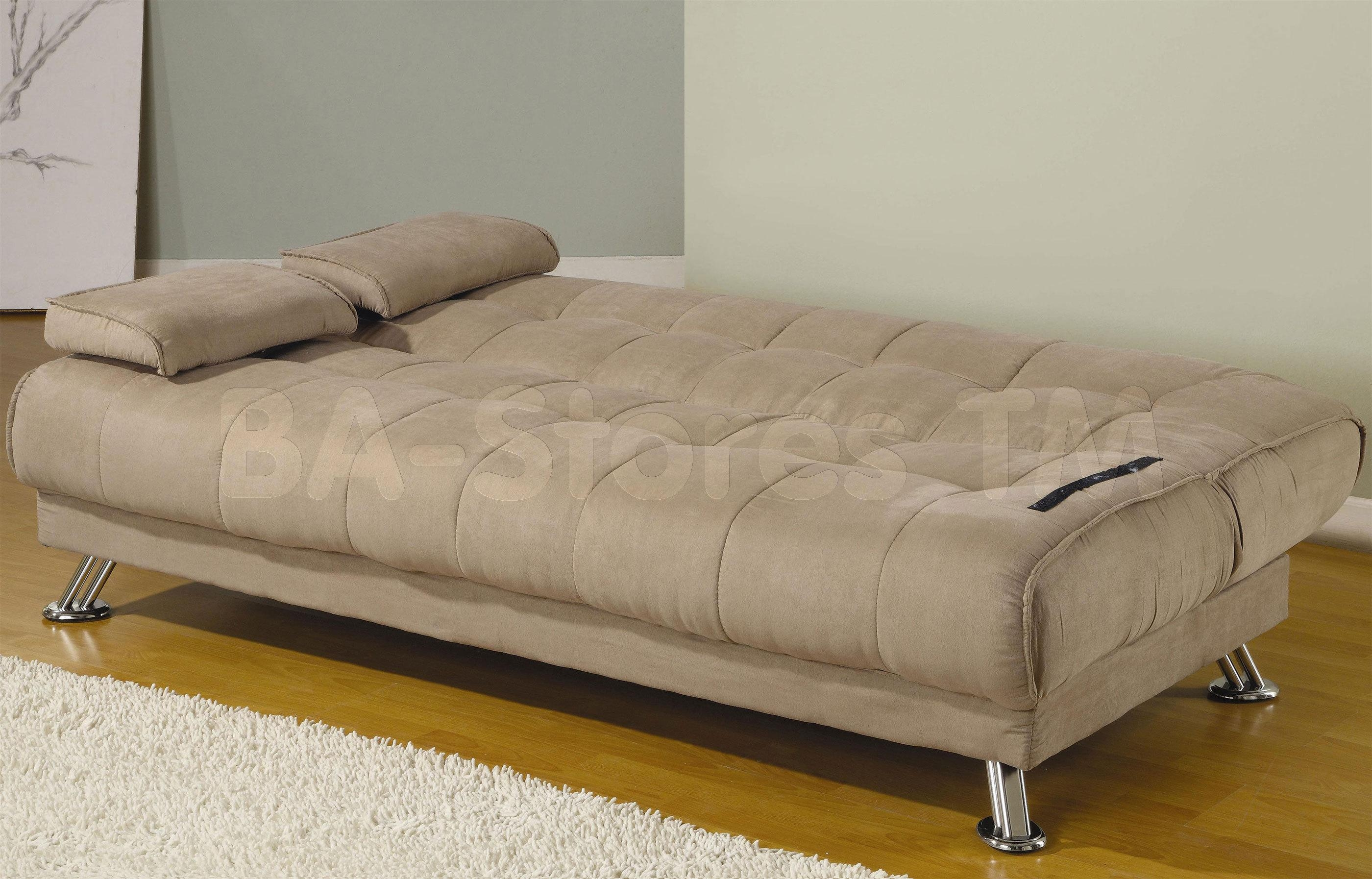 Leather Sofa Bed Full Size | Tehranmix Decoration In Full Size Sofa Beds (Image 6 of 20)