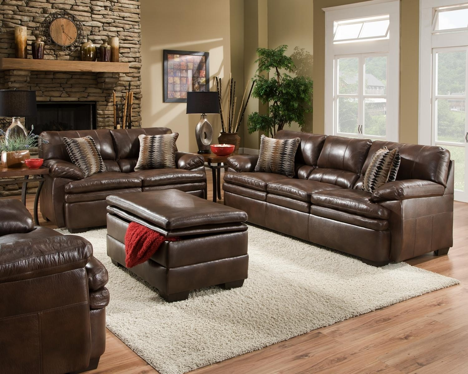 Leather Sofa Living Room Within Living Room Sofa Chairs (View 13 of 20)