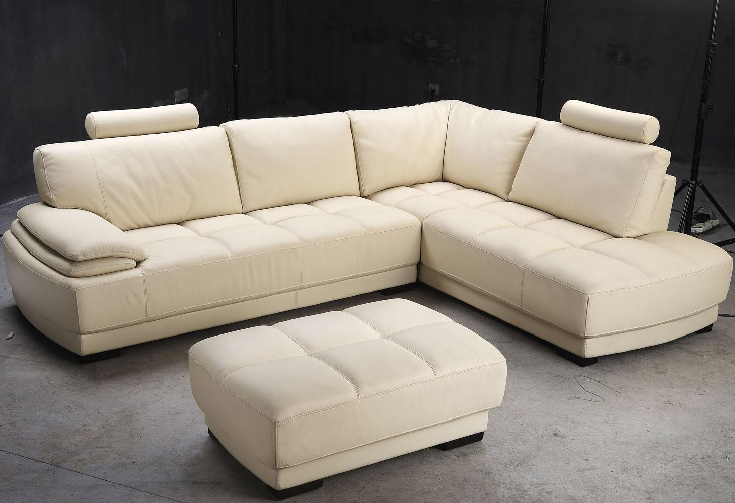 Leather Sofas Inside Beige Leather Couches (View 12 of 20)