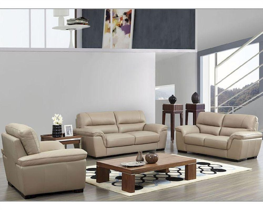 Leather Sofas, Leather Loveseats | Sofa Furniture Within Beige Leather Couches (View 7 of 20)