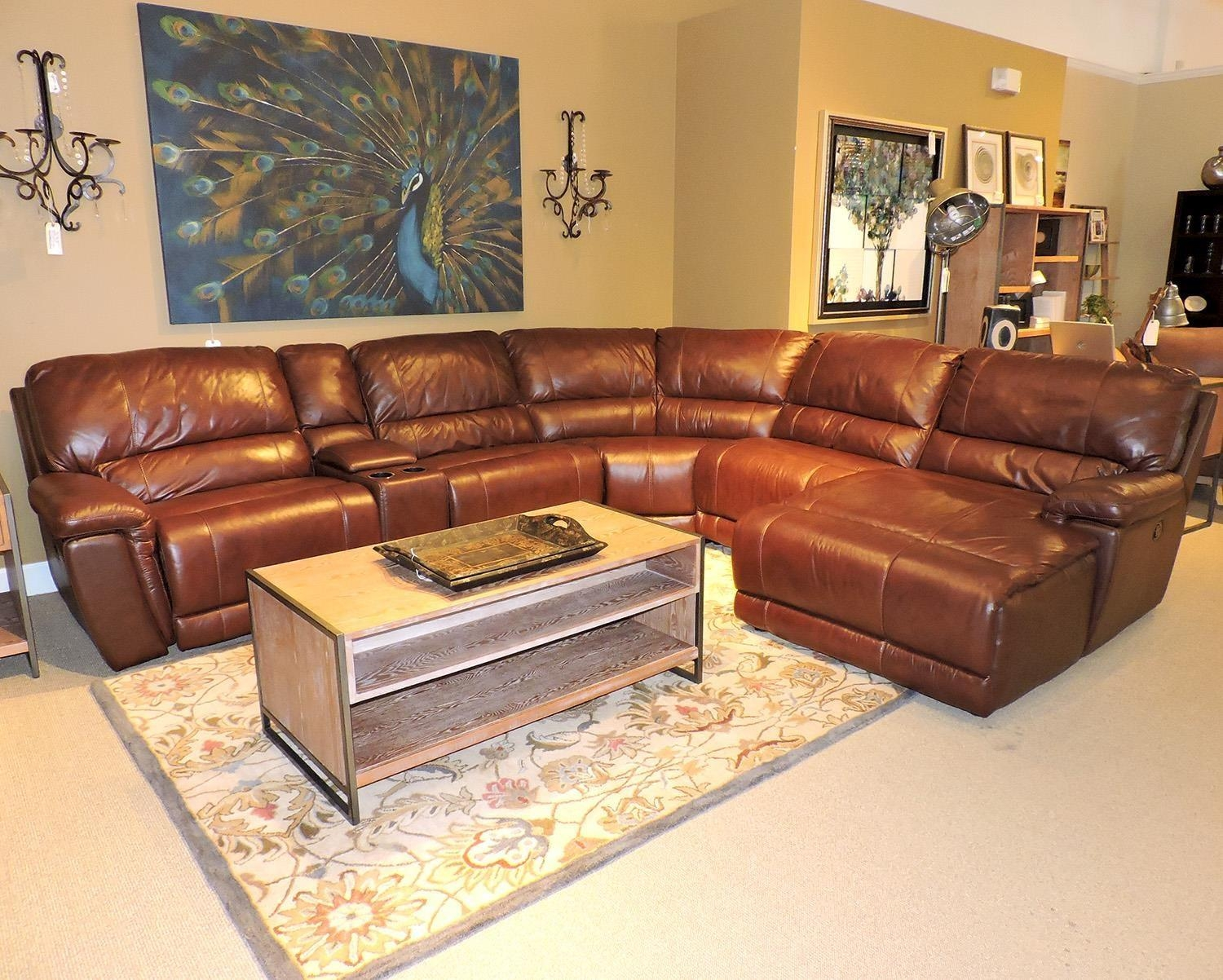 Leather Sofas | Washington Dc, Northern Virginia, Maryland And Throughout Bomber Leather Sofas (Image 11 of 20)