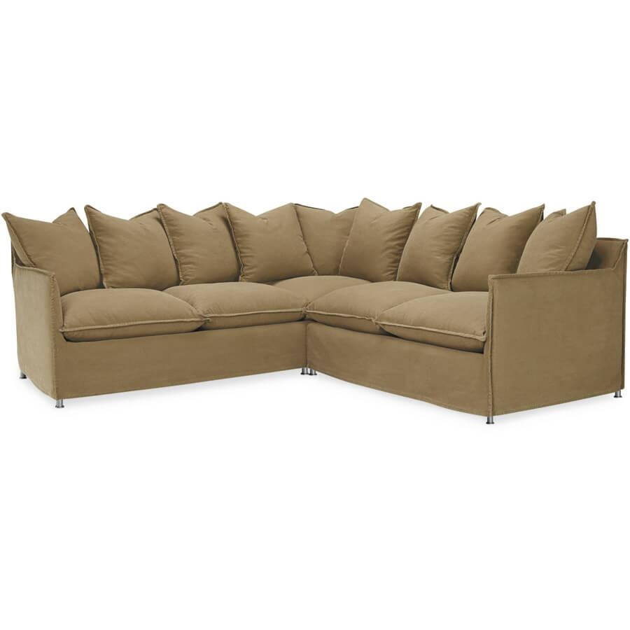 Lee Agave Sectional: Outdoor Slipcovered Modular Outdoor Furniture In Lee Industries Sectional Sofa (Image 11 of 20)