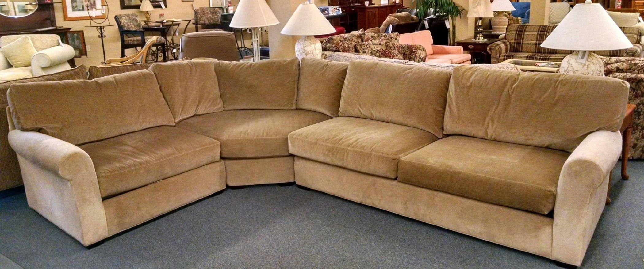Lee Industries Sectional Sofa | Delmarva Furniture Consignment Throughout Lee Industries Sectional (View 5 of 20)