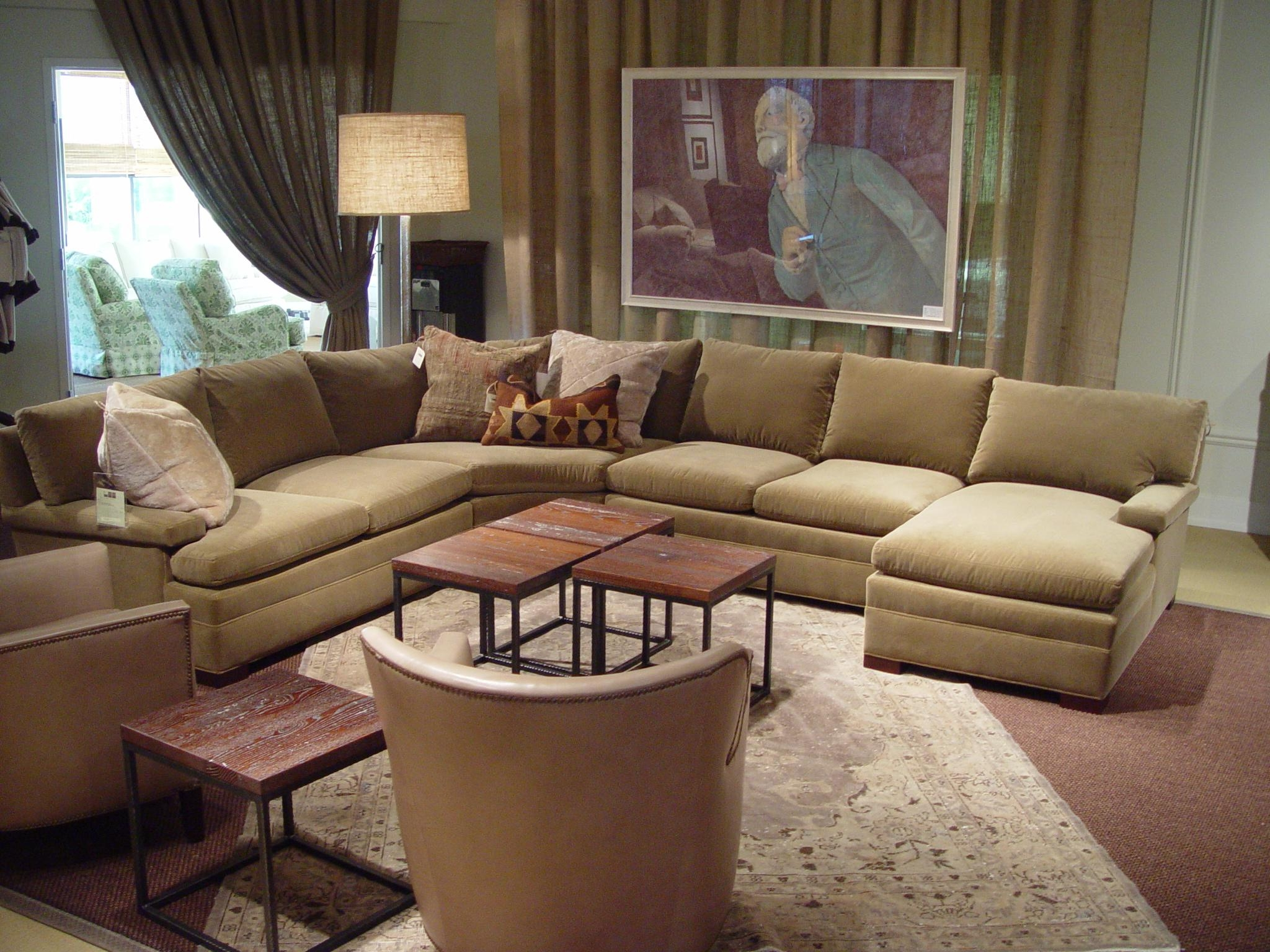 Attractive Lee Industries Sectional Sofa | James Craig Furnishings Within Lee  Industries Sectional (Image 13 Of