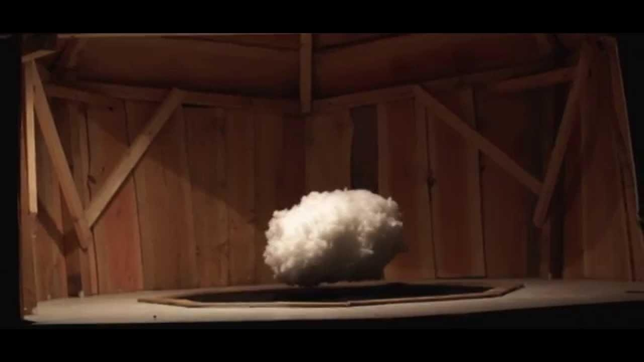 Levitating Cloud Installation – Youtube Pertaining To Cloud Magnetic Floating Sofas (Image 15 of 20)