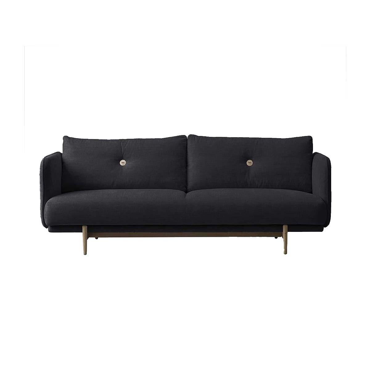 Life Interiors – Hold 3 Seater Sofa (Charcoal) – Modern Sofas For Intended For Modern 3 Seater Sofas (Image 12 of 20)