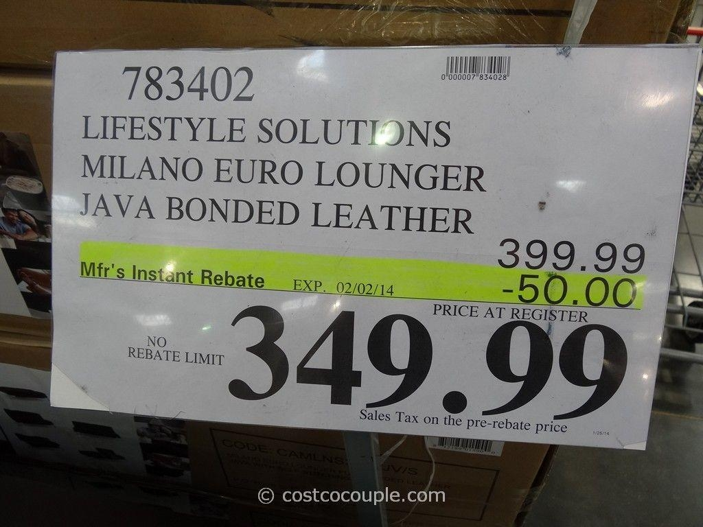 Lifestyle Solutions Milano Euro Lounger With Regard To Euro Loungers (Image 12 of 20)
