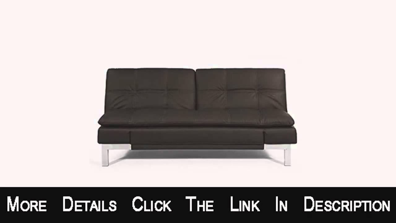 Lifestyle Solutions Serta Venza Euro Lounger Sofa – Youtube Within Euro Loungers (View 15 of 20)