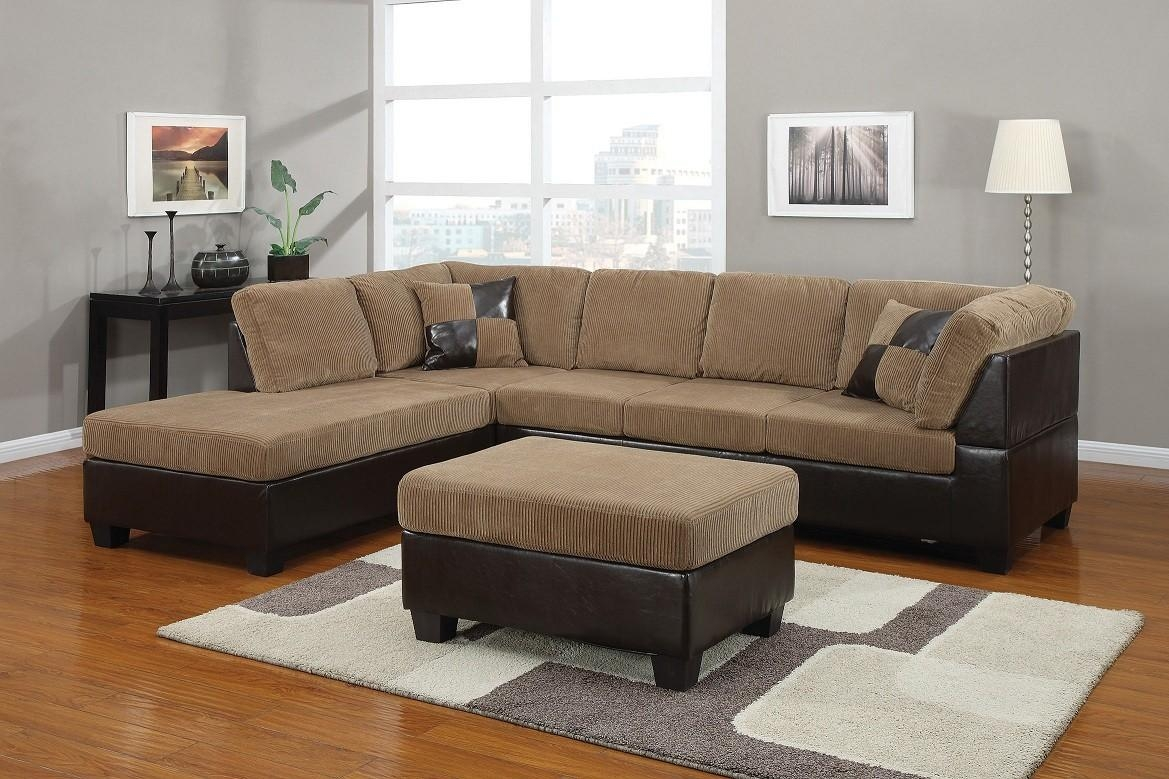 Light Brown Corduroy Sectional Sofa Lowest Price – Sofa, Sectional Within Brown Corduroy Sofas (View 7 of 20)