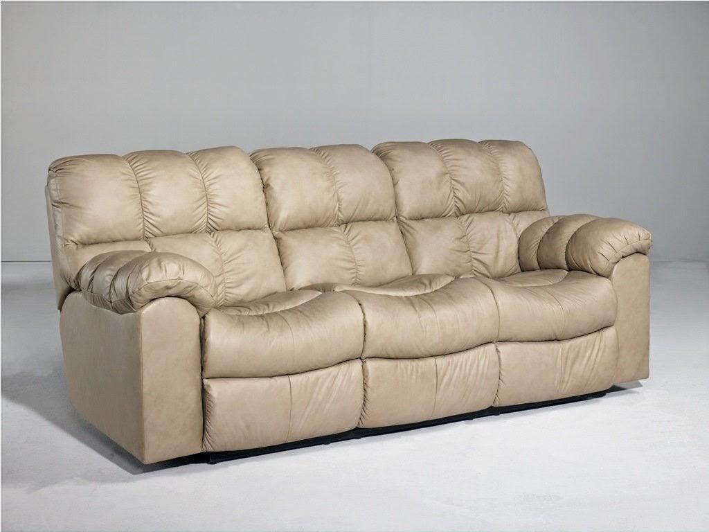 Light Brown Leather Sofa – Decofurnish Intended For Light Tan Leather Sofas (Image 10 of 20)