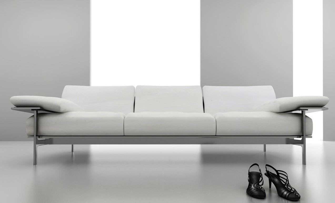 Light Gray Sofas. Zamp (Image 12 of 20)