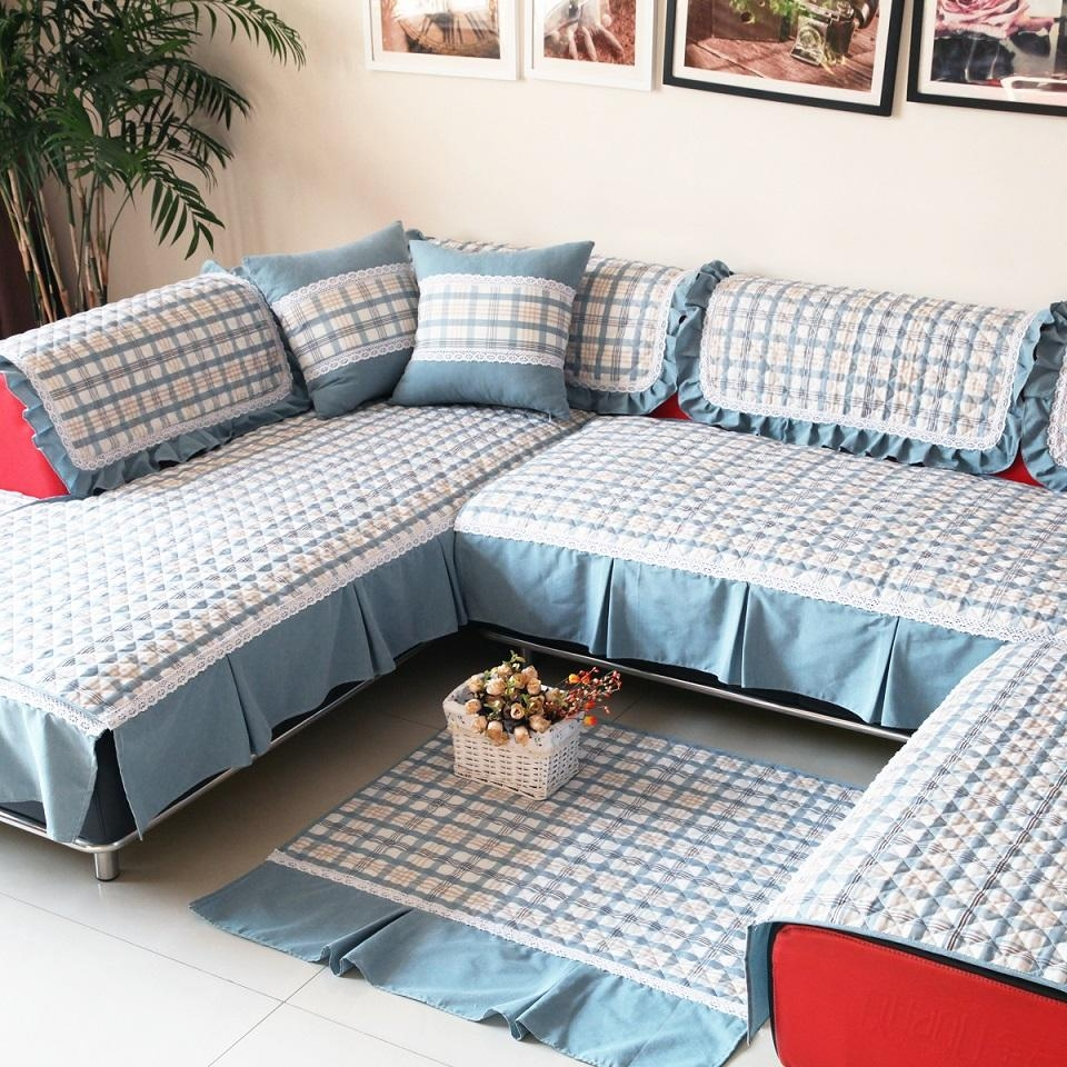 Living Room: 3 Piece Couch Covers | L Shaped Couch Covers Intended For 3 Piece Sectional Sofa Slipcovers (Image 14 of 20)