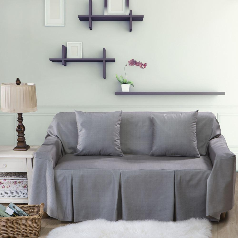 Living Room: 3 Piece Couch Covers | L Shaped Couch Covers With Regard To 3 Piece Sectional Sofa Slipcovers (Image 16 of 20)