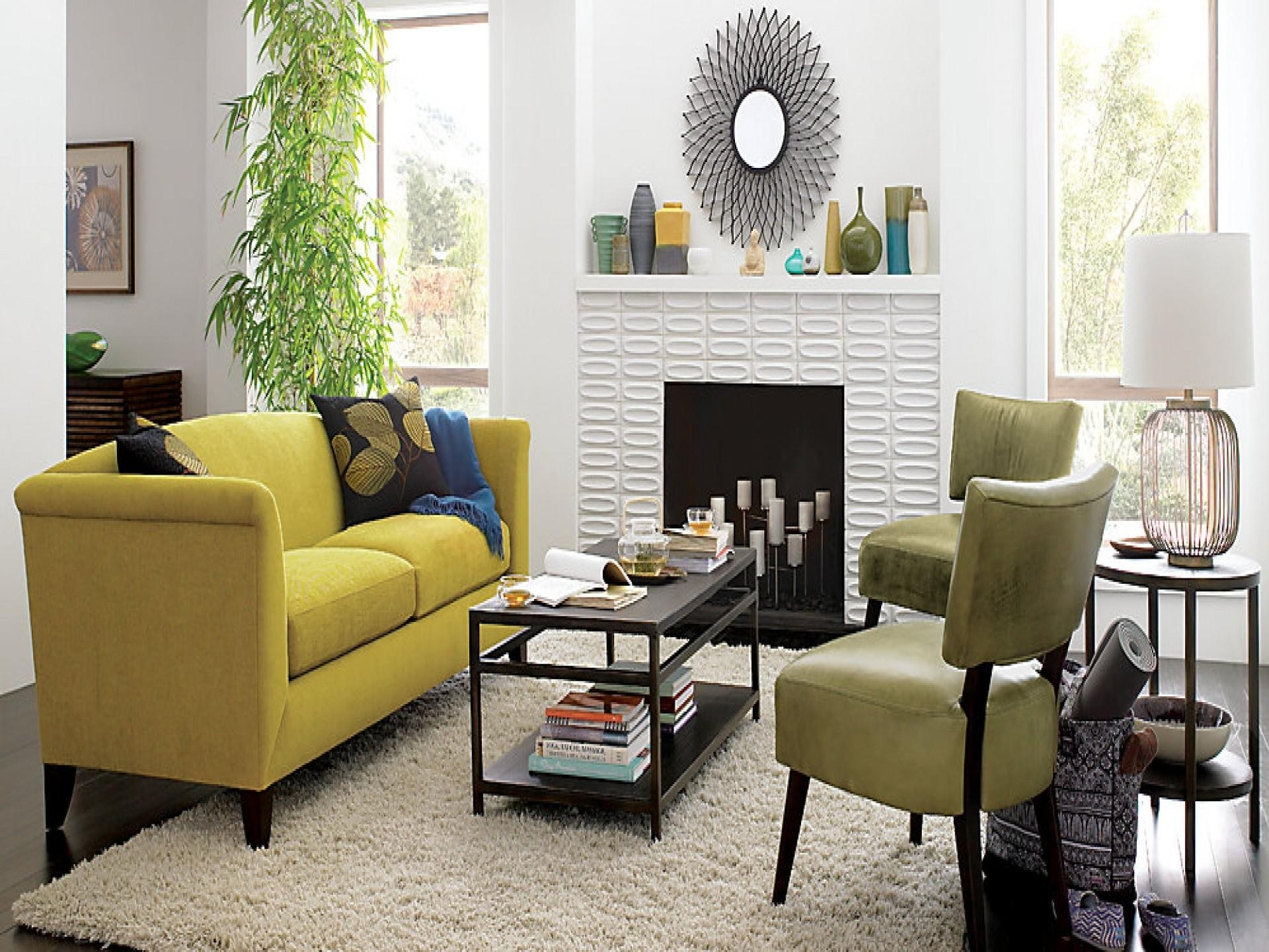 Living Room : Awesome Yellow Living Room Decorating Ideas With With Yellow Sofa Chairs (Image 11 of 20)