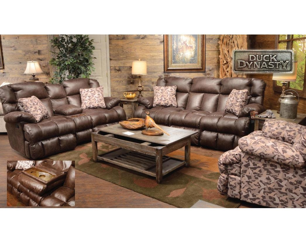 Living Room: Contemporary Camo Living Room Furniture Camo With Camo Reclining Sofas (Image 17 of 20)