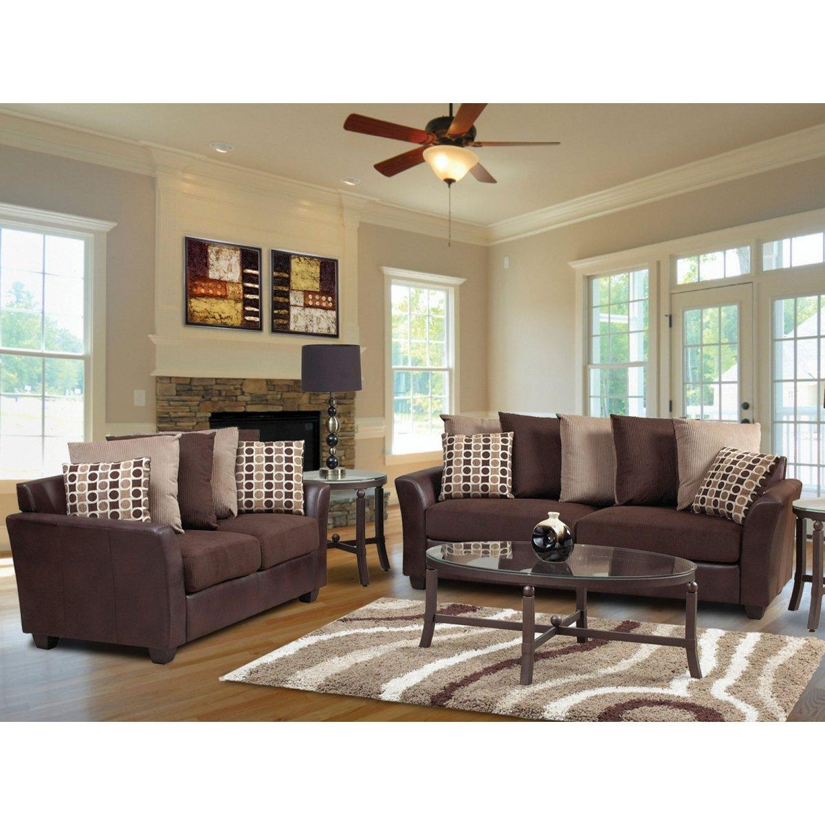 Living Room Decor Ideas Brown Sofa (Image 15 of 20)