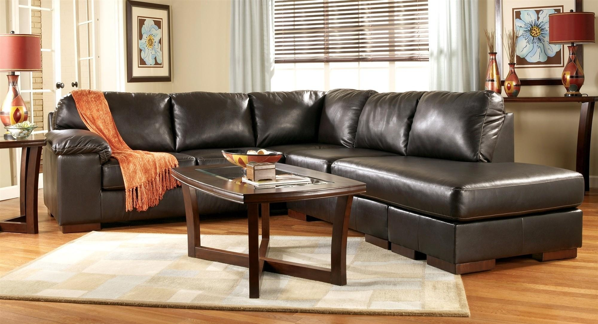 Living Room Design Ideas Brown Leather Sofa Lavita Home (Image 12 of 20)