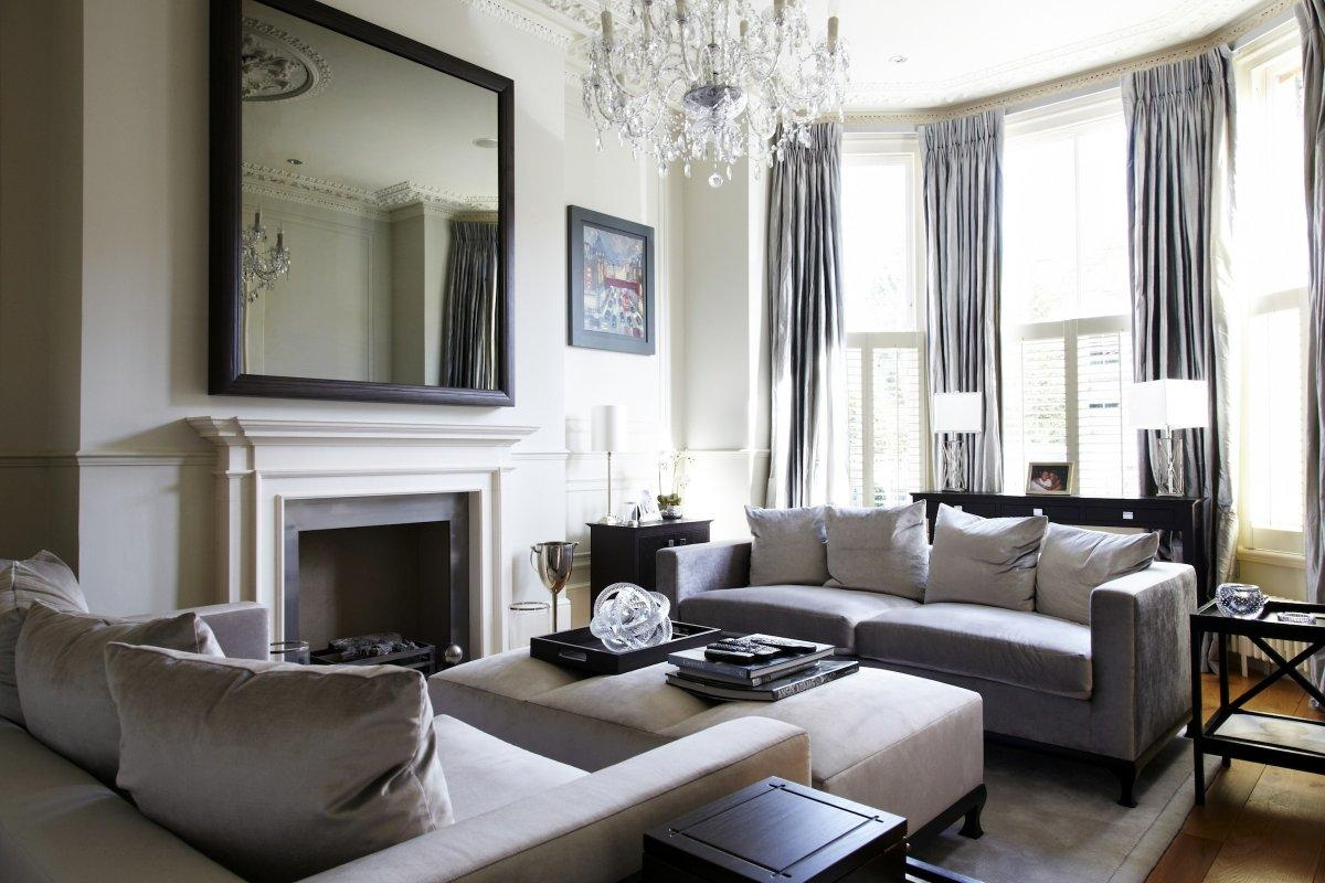 Living Room Design Ideas Grey Sofa | Decorating Clear Pertaining To Living Room With Grey Sofas (View 8 of 20)