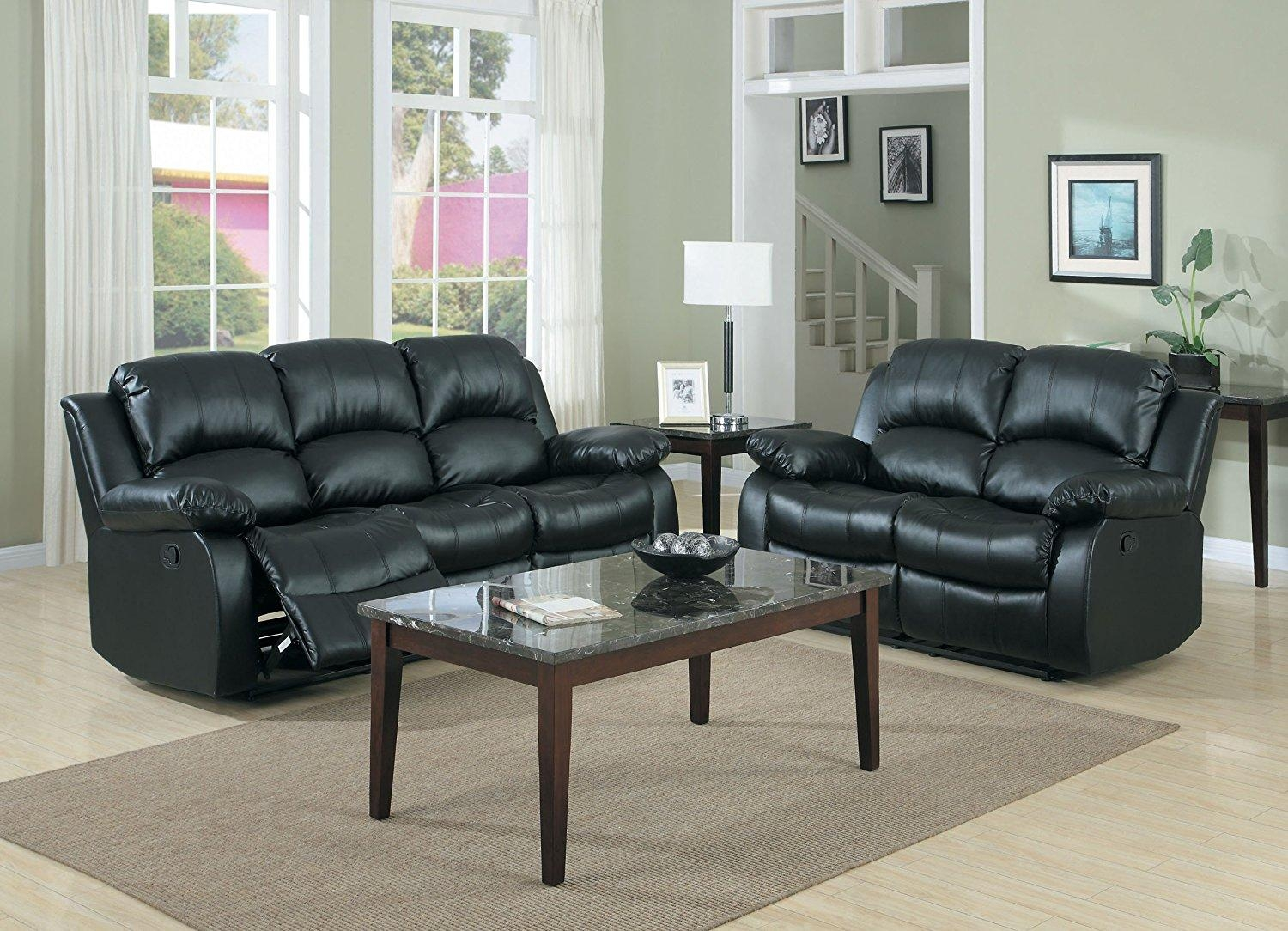 Living Room : Enchanting Black Leather Corner Sofas Covered In Top With Black Leather Corner Sofas (View 18 of 20)