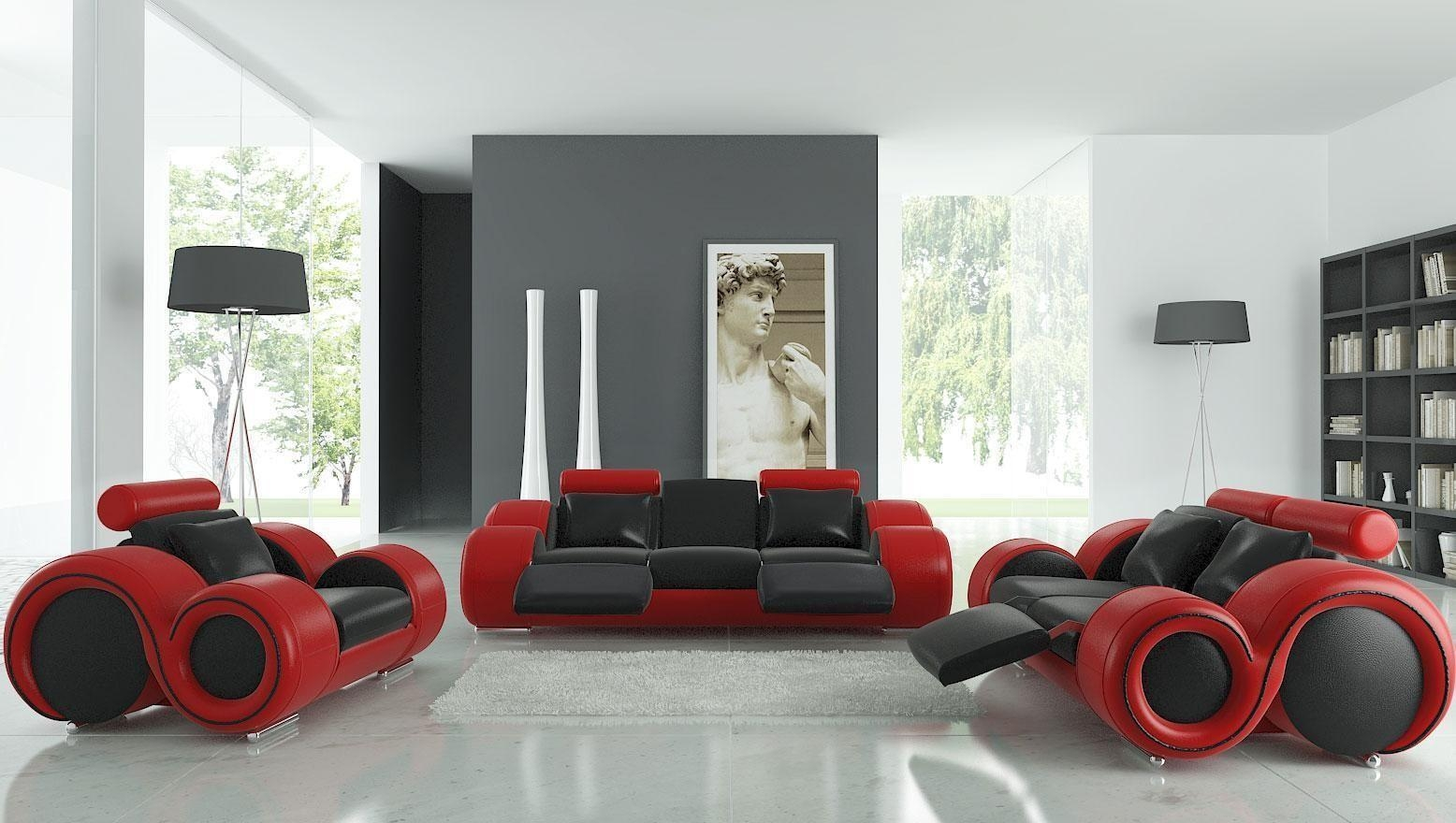 Living Room: Exciting Sofa Set For Sale Sofa Set For Sale Ikea, 5 With Black And Red Sofa Sets (Image 10 of 20)