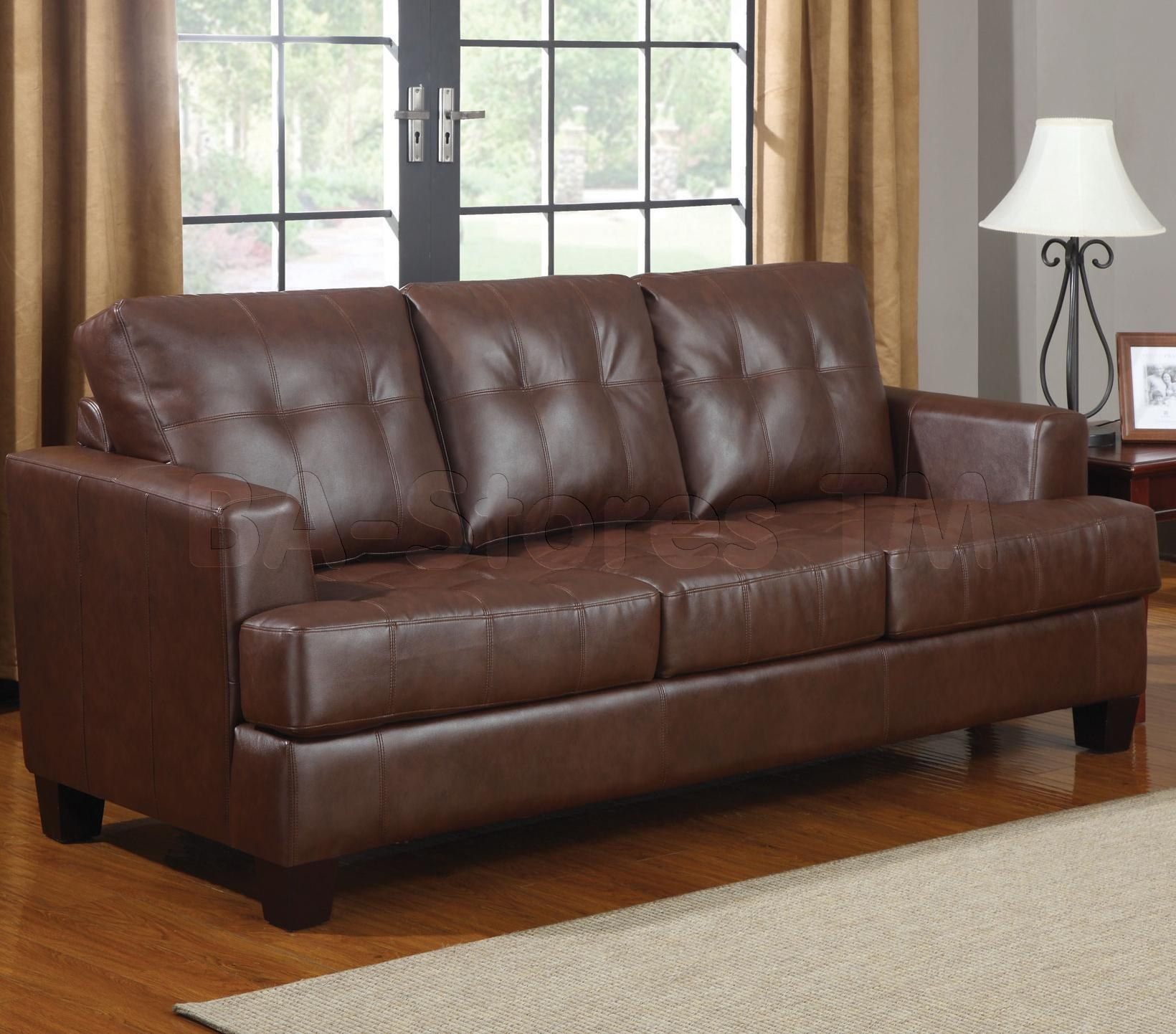 Living Room : Furniture Interior Ideas Leather Sectionals On Sale Intended For Contemporary Brown Leather Sofas (View 17 of 20)