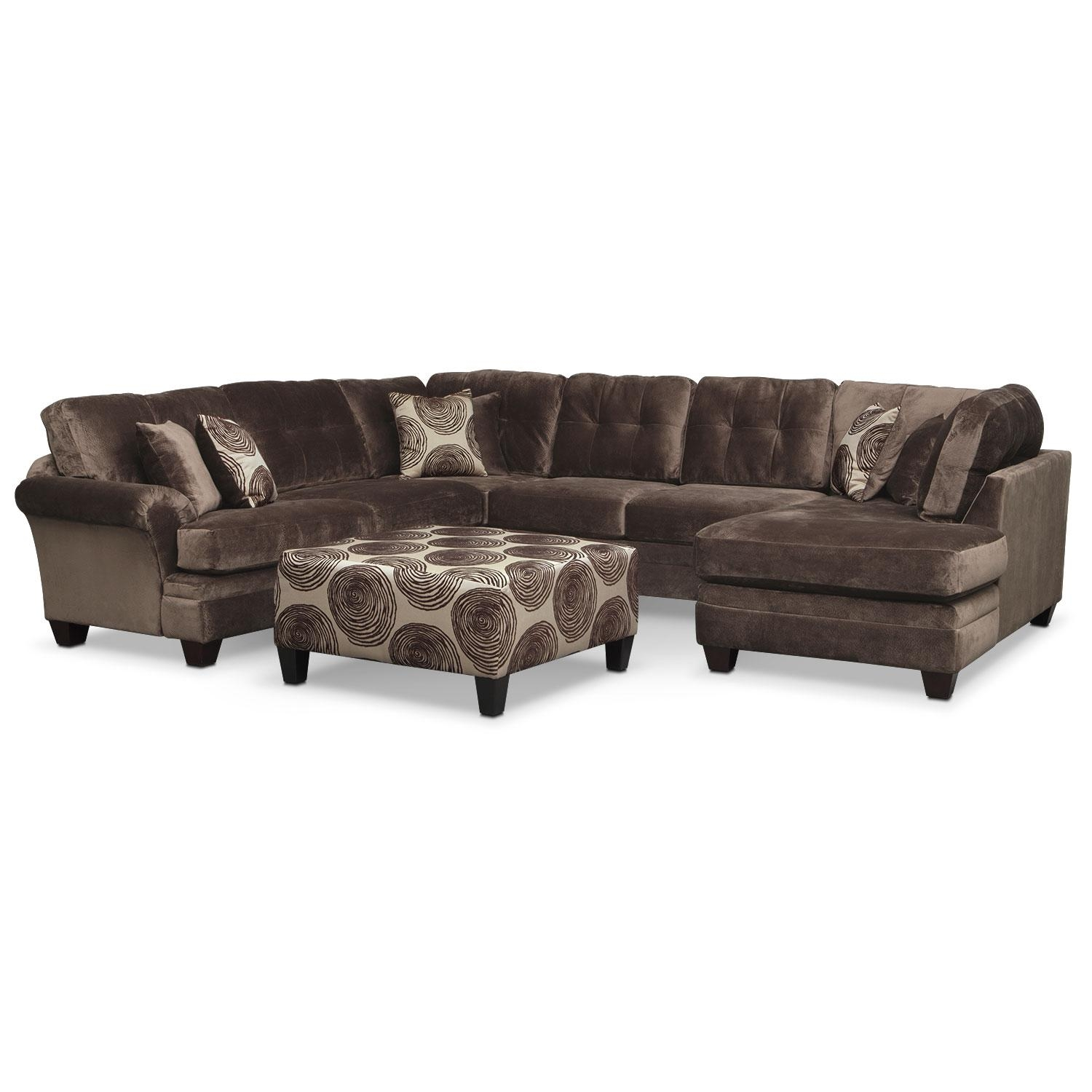 Living Room Furniture Packages | Value City Furniture For Value City Sofas (Image 6 of 20)