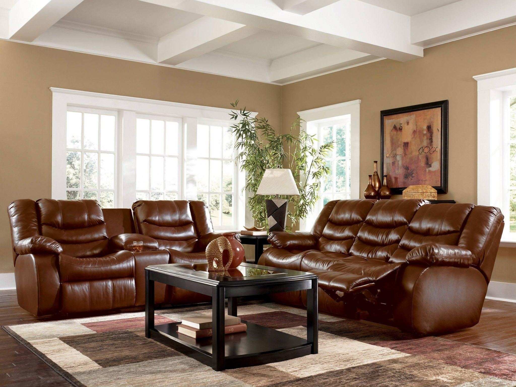 Living Room Ideas With Brown Sofas – Theydesign – Theydesign Intended For Living Room With Brown Sofas (Image 15 of 20)