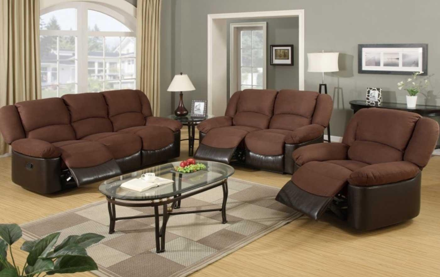 Living Room Leather Sofa Sets Pertaining To Desire – Creditrestore Regarding Living Room With Brown Sofas (View 6 of 20)