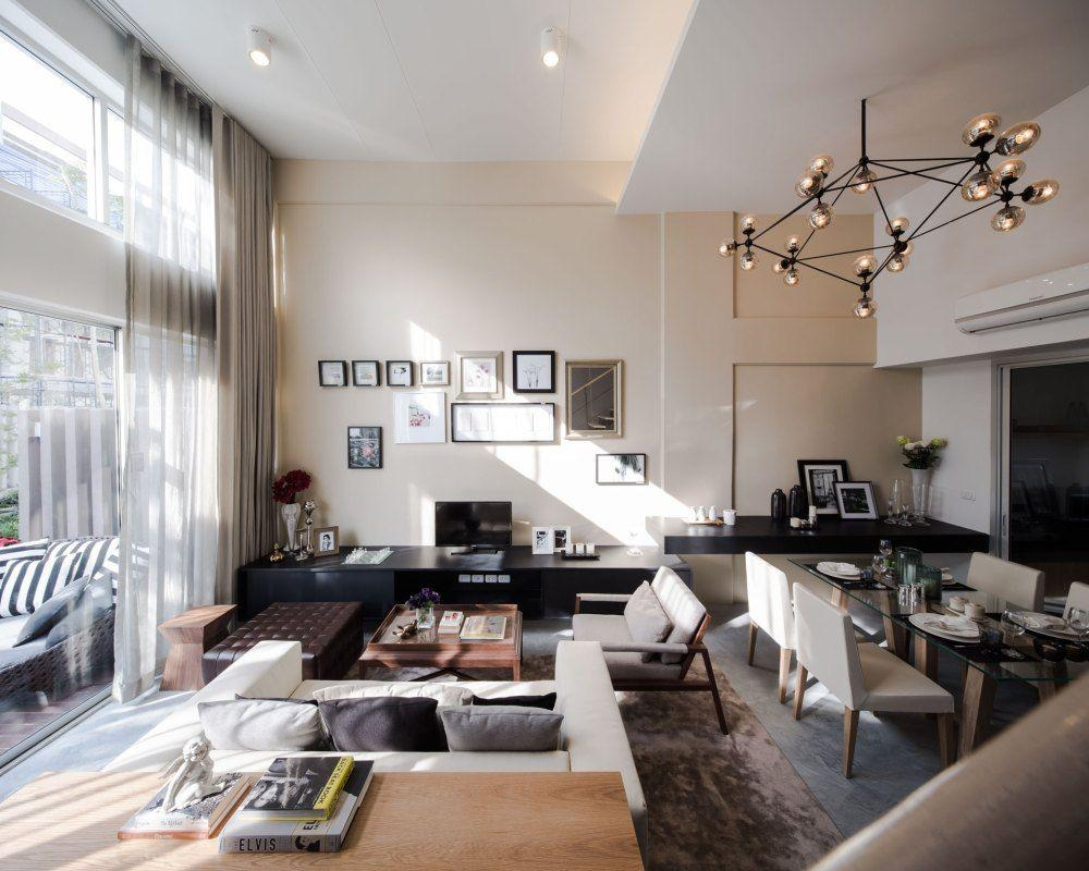 Living Room: Pretty Designs Of Floating Shelves Living Room Within Floating Sofas (View 5 of 20)