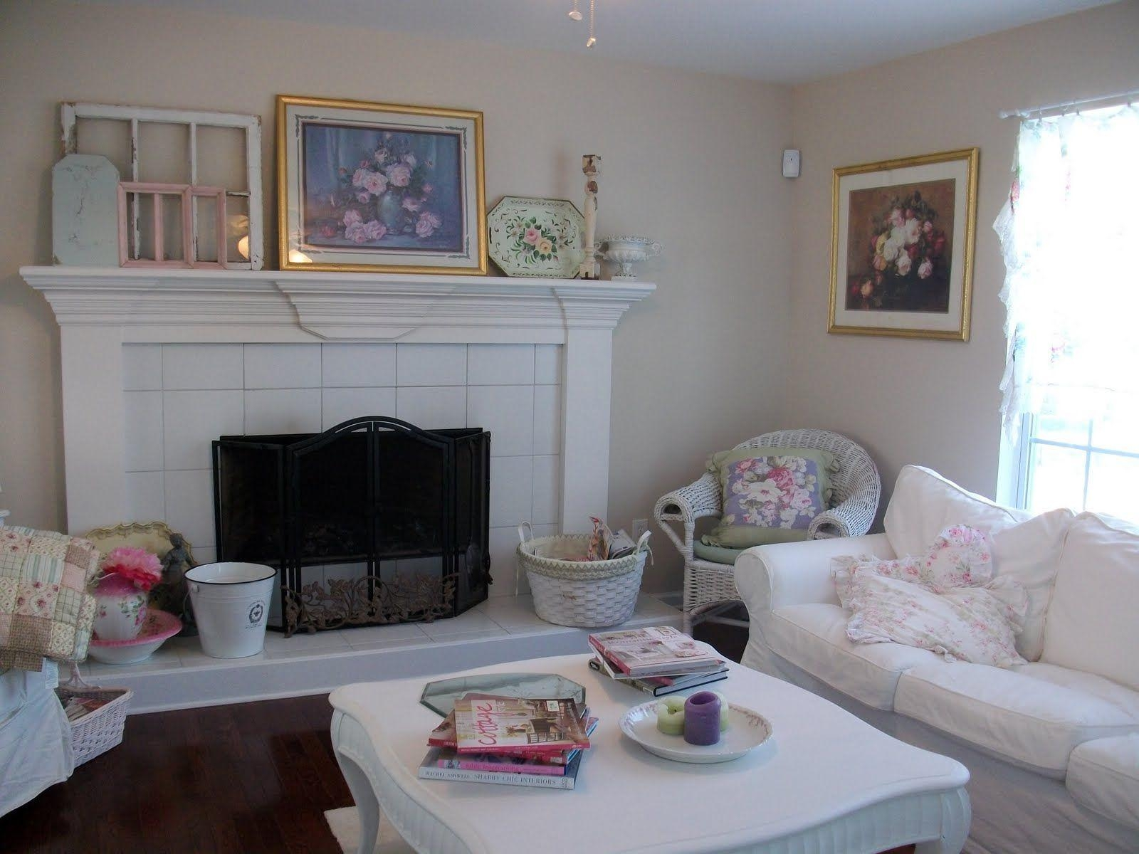 Living Room : Shabby Chic Living Rooms Small Sectional Sofa Regarding Shabby Chic Sectional Sofas (View 13 of 20)