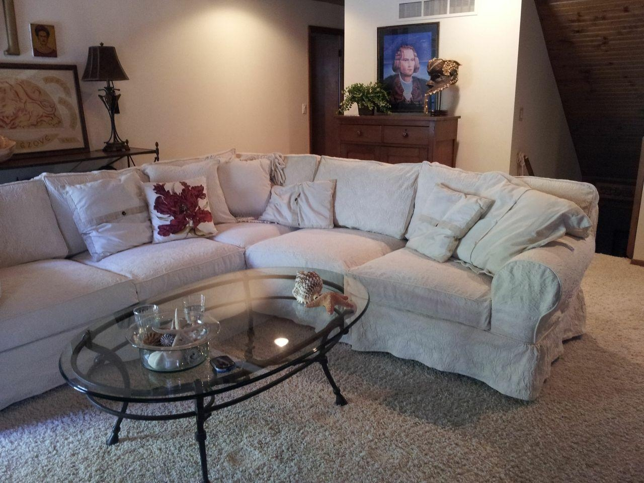 Living Room: Slip Cover For Sectional Couch | Sectional Couch With Sectional Sofa Covers (Image 15 of 20)