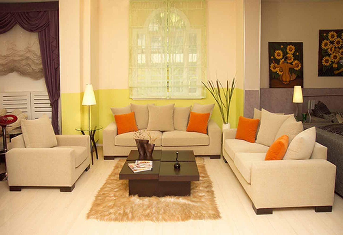 Living Room : Small Living Room Furniture Ideas Cream Color Sofa Inside Cream Colored Sofa (View 4 of 20)