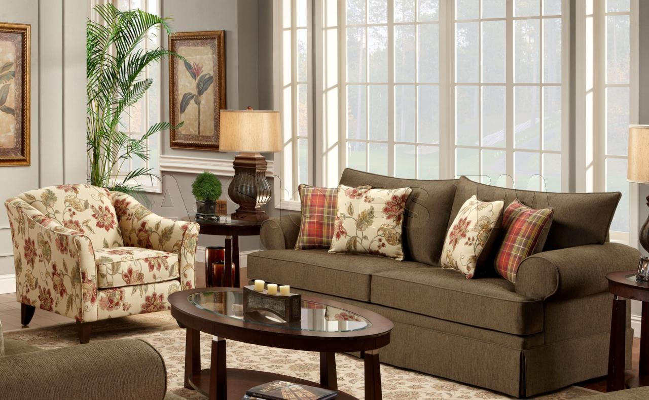 Living Room Sofas And Chairs : Moroccan Décor For Your Living Room In Sofa And Accent Chair Set (View 10 of 20)