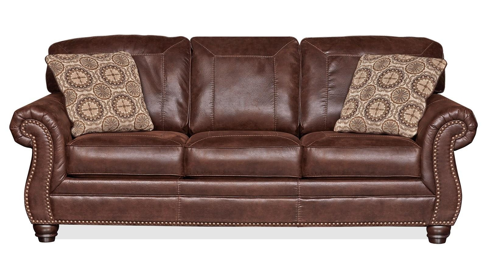 Living Room Sofas   Gallery Furniture Pertaining To Brown Sofa Chairs (Image 14 of 20)