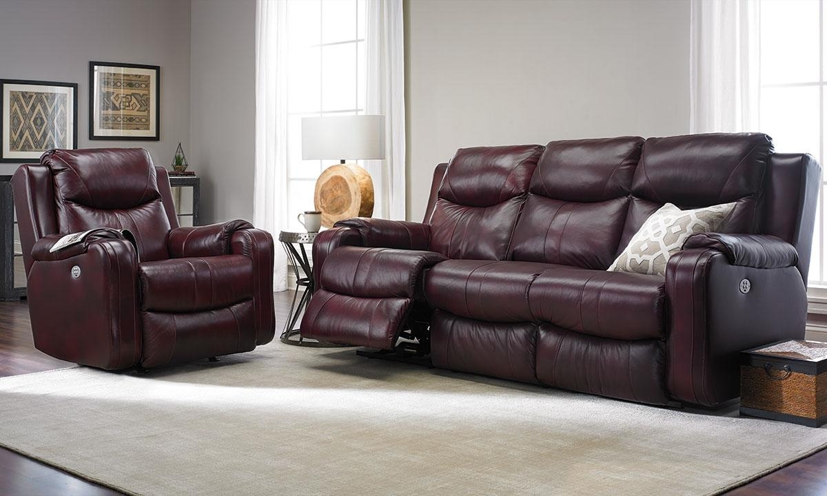 Living Room Sofas | Haynes Furniture, Virginia's Furniture Store Inside 2 Seater Recliner Leather Sofas (Image 10 of 20)