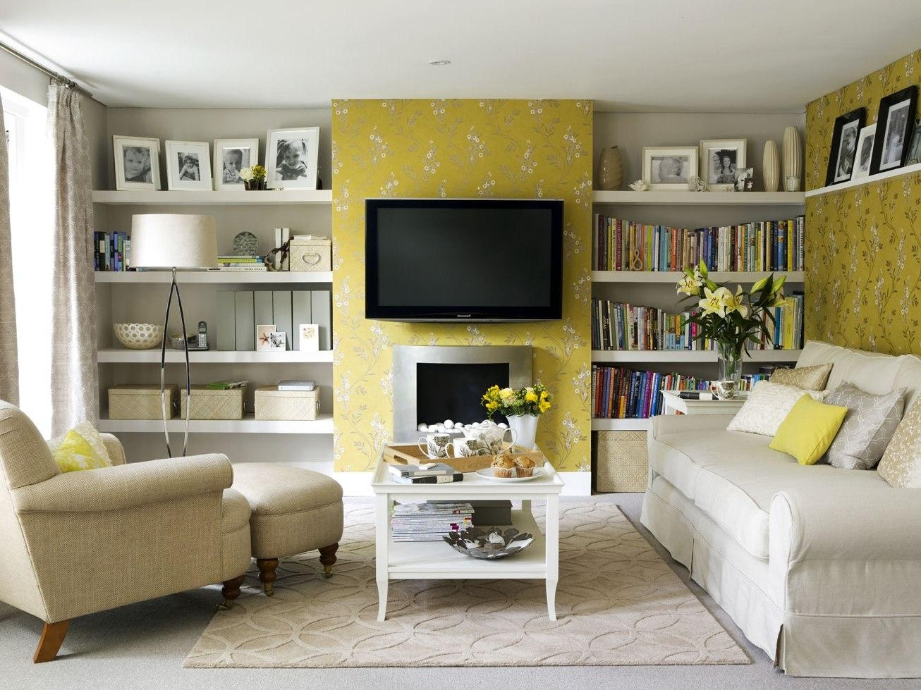 Living Room : Trendy Home Living Room Decorating Ideas Cream Color Pertaining To Cream Colored Sofas (Image 12 of 20)