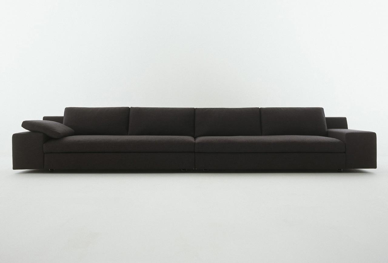 Long Sectional Sofa Design For Luxurious Interior Look | Homesfeed With Regard To Long Sectional Sofa With Chaise (View 16 of 20)