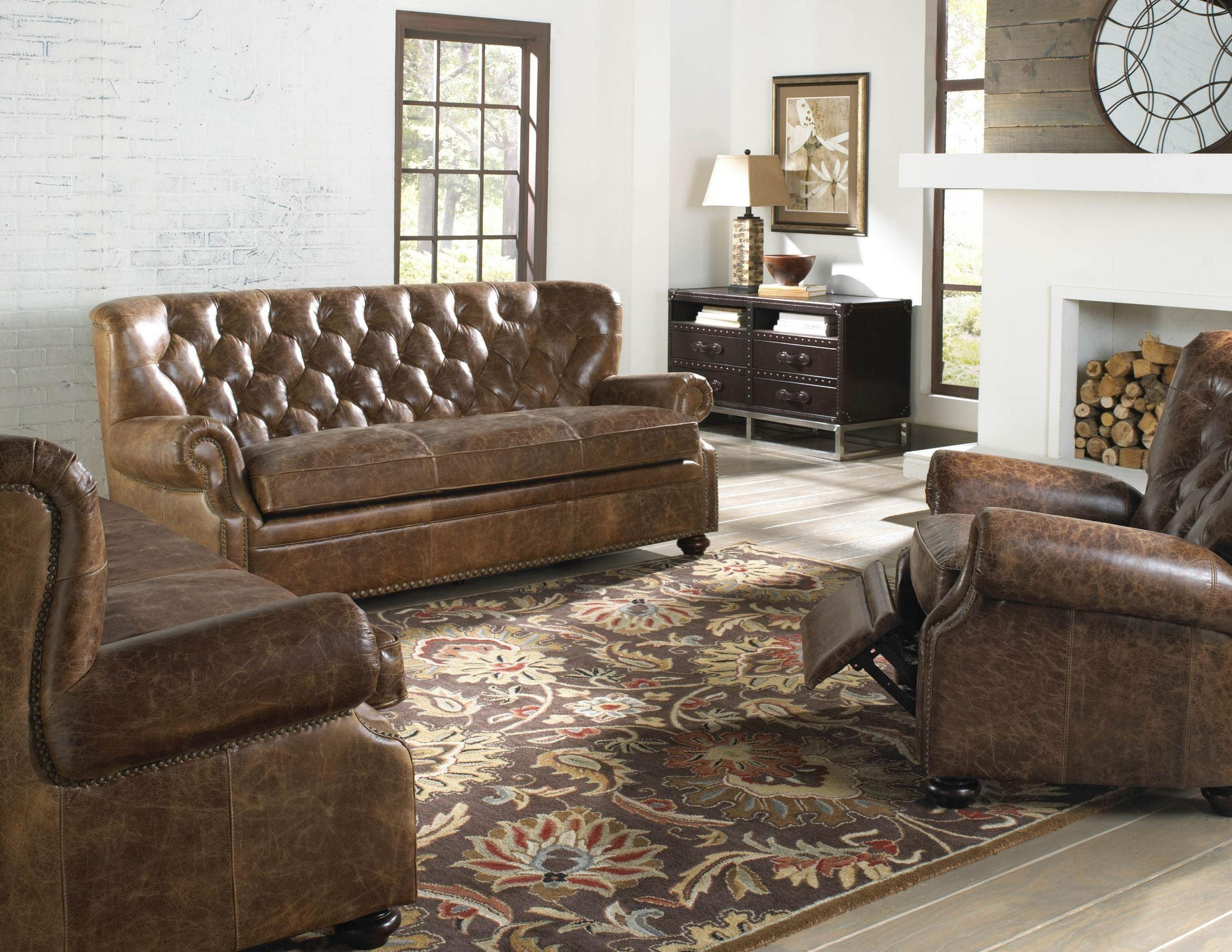 Louis Coco Brompton Leather Sofa From Lazzaro (Wh 1435 30 9021 Pertaining To Brompton Leather Sofas (Image 10 of 20)
