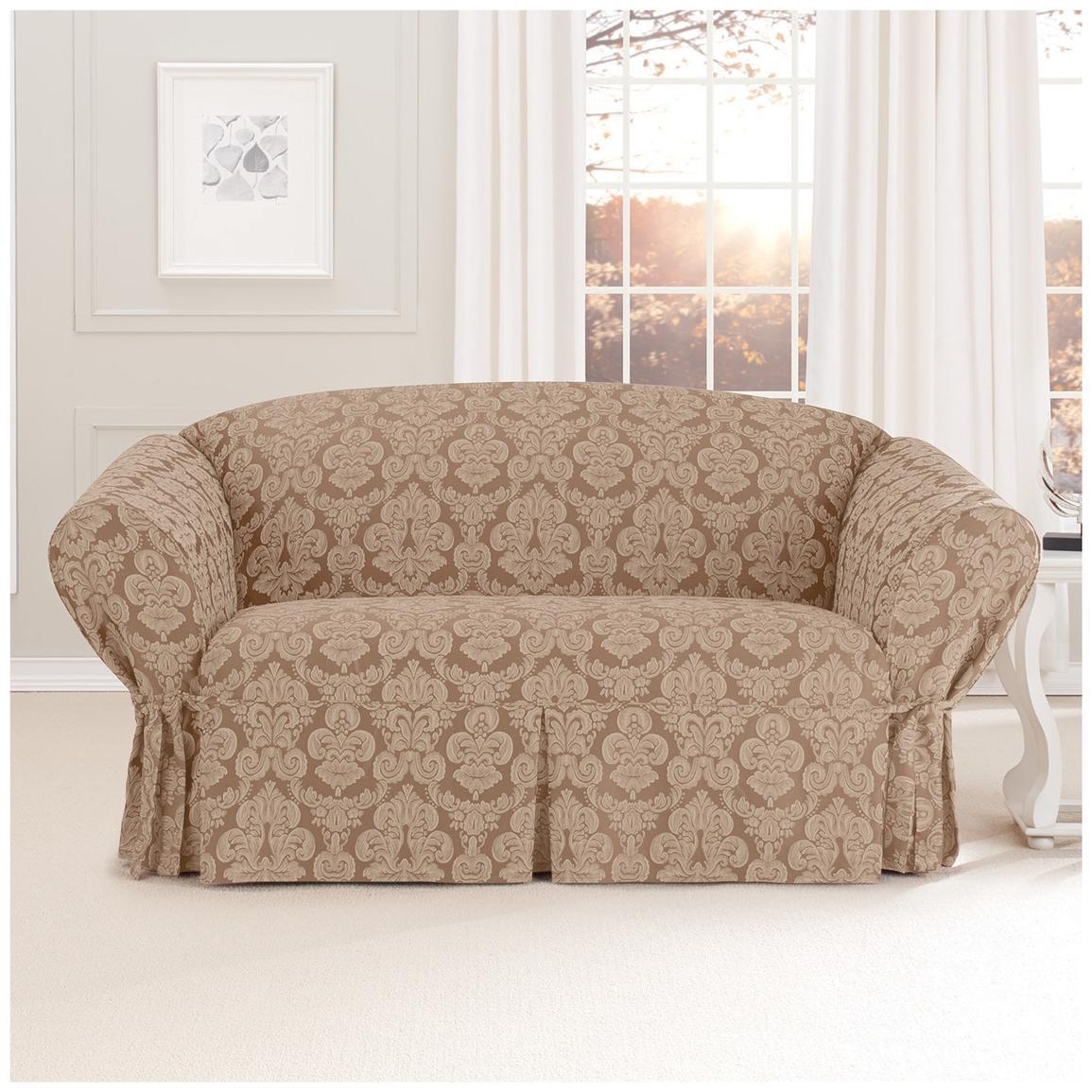 Love Seat Couch Cover – Velcromag Intended For Slip Covers For Love Seats (Image 11 of 20)